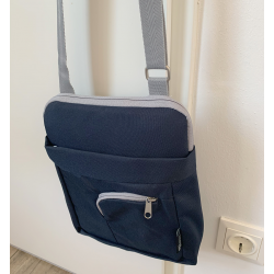 Tablet Tasche, navy grey