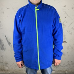 Fleece Jacke AKER, Cobalt,...