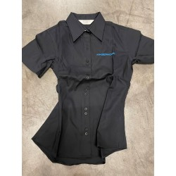 Damen Businessbluse Kurzarm...