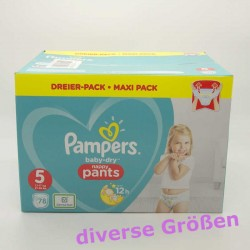 Pampers baby-dry nappy...