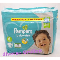 Pampers baby-dry, diverse...